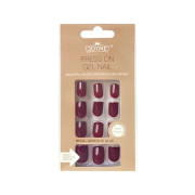 Click On / Press On Nails Nails - Bordeaux Red