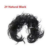Messy Curly Hair for tuber # 2 - Natural Black