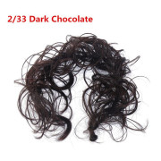 Messy Curly Hair for tuber # 2/33 - Chocolate Brown
