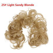 Messy Curly Hair for tuber # 25 - Light Ash Brown