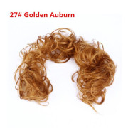 Messy Curly Hair for tuber # 27 - Golden russet