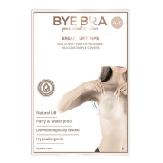 Bye Bra Push-Up Breast Tape + Silicone Nipple Covers - Size A-C