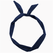 Flexi Hair bands with wire - Dark Blue