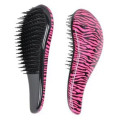 Detangler Hair Brush, Pink Zebra