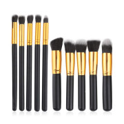 Technique Pro® Make-up Brushet Set - 10 Pieces