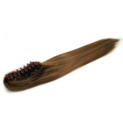 Ponytail extensions claw straight - color 6# light brown