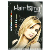 Hair Bling - Crystal Diamonds, 8 colors