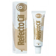 Refectocil No. 0 Bleaching for Brown Eyebrows