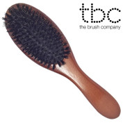 * TBC® Boar Bristle Classic Hair Brush with Real Hair