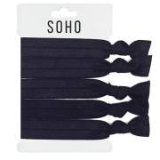 * SOHO® Hair Ties no. 17 - ALL BLACK