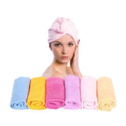 Turbie Turban Twist Hair Towel