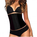 AVA® Latex Waist Trainer - Black