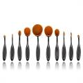 Mermaid® Oval Brushes for Make-up  - 10 Pieces