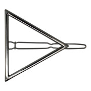 SOHO® Triangle Hair Clip - Silver