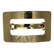 SOHO® Rectangle Metal Hair Clip - Gold