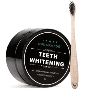 Whitening Teeth whitening active carbon + Bamboo Toothbrush