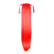 Pony tail Fiber extensions Total red