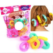 * Fashion Spiral Hair rollers / Curlers 8 stk