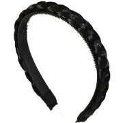 Braided Hair band - Black
