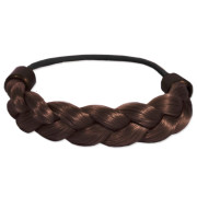 Braided Hair Elastic - Brown
