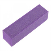 Nail Buffer with 4 sides, Purple