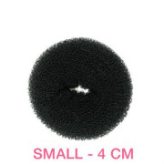 4 cm Hair donut black