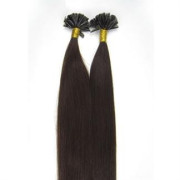 50 cm Hot Fusion Hair extensions 2# Dark Brown