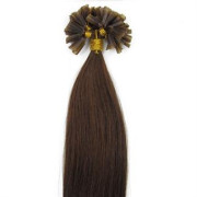 60 cm Hot Fusion Hair extensions 6# light Brown