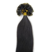 60 cm Hot Fusion Hair extensions 1B# Jet Black