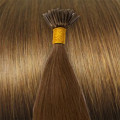 50 cm Cold Fusion hair extensions light brown 6#