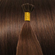 50 cm Cold Fusion hair extensions Redbrown 30#