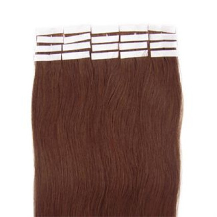 60 cm tape on Extensions Light Brown 6#