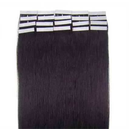 50 cm tape on Extensions Jet Black 1B#