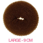 9 cm Hair donut - Brown