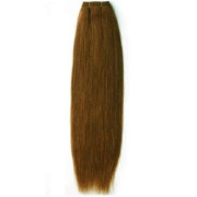 60 cm weft Hair extensions RedBrown 30#