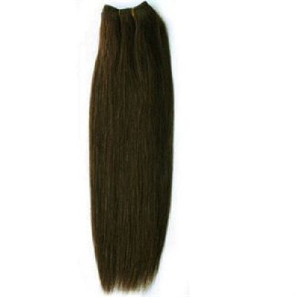 60 cm weft Hair extensions Dark Brown 2#
