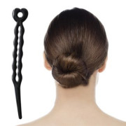 Magic Hair Bun II Black