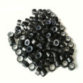 Silicone Micro rings black 100 pcs.